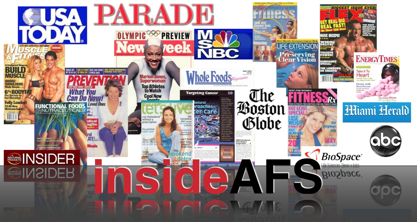 insideAFS Press Releases and News Applied Food Sciences, Inc. Leaders in Natural Caffeine and Organic Energy