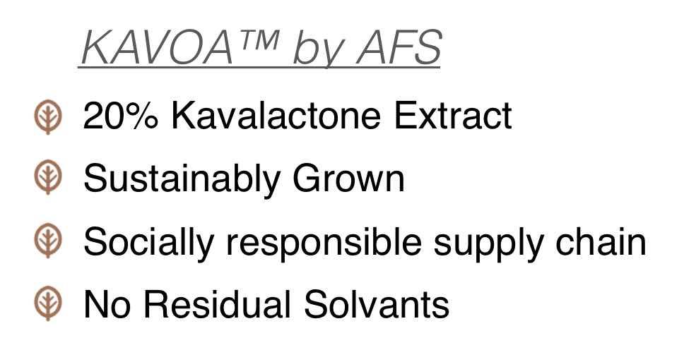 Kava extract / kava root extract