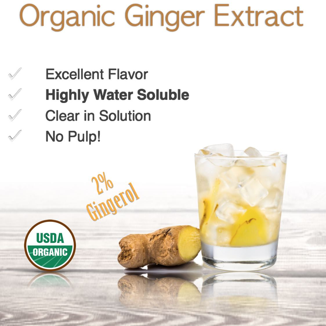 Organic Ginger Extract